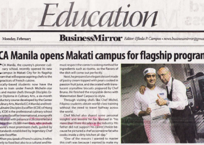 CCA Manila opens Makati campus for flagship program